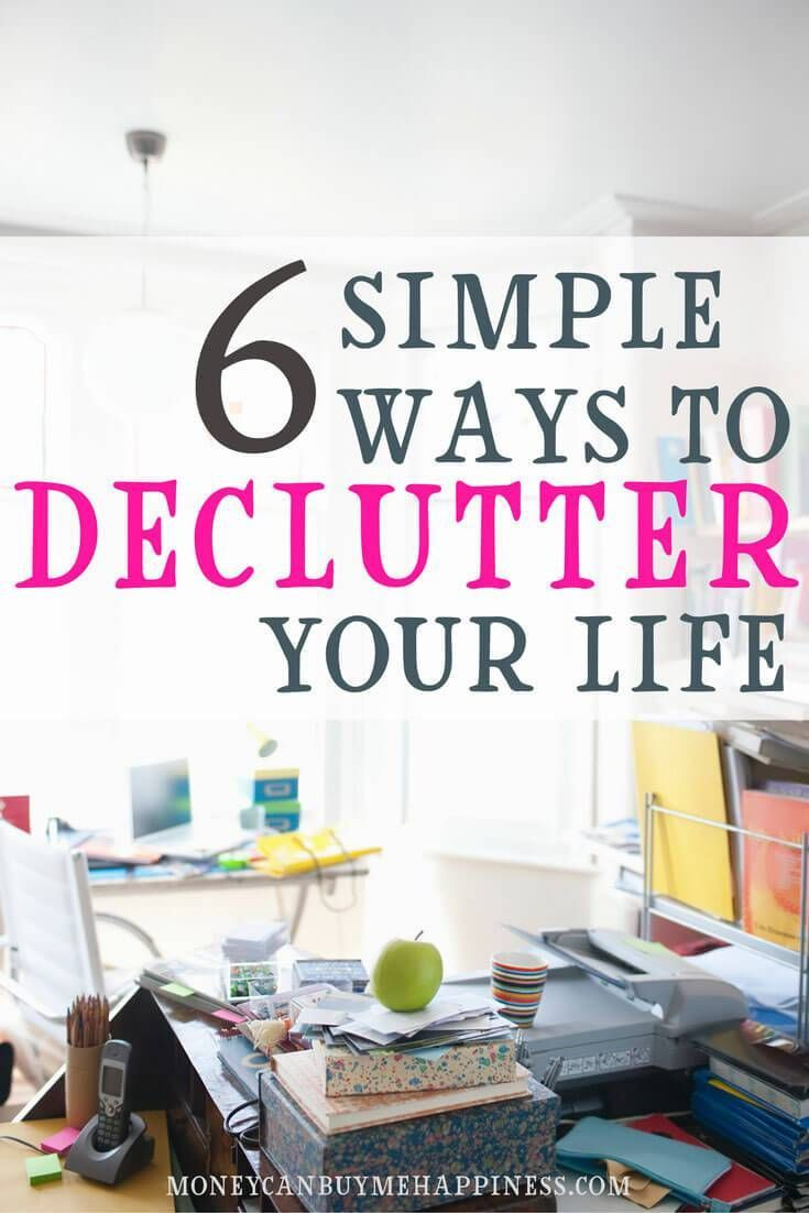 Simplify Your Life Declutter Home