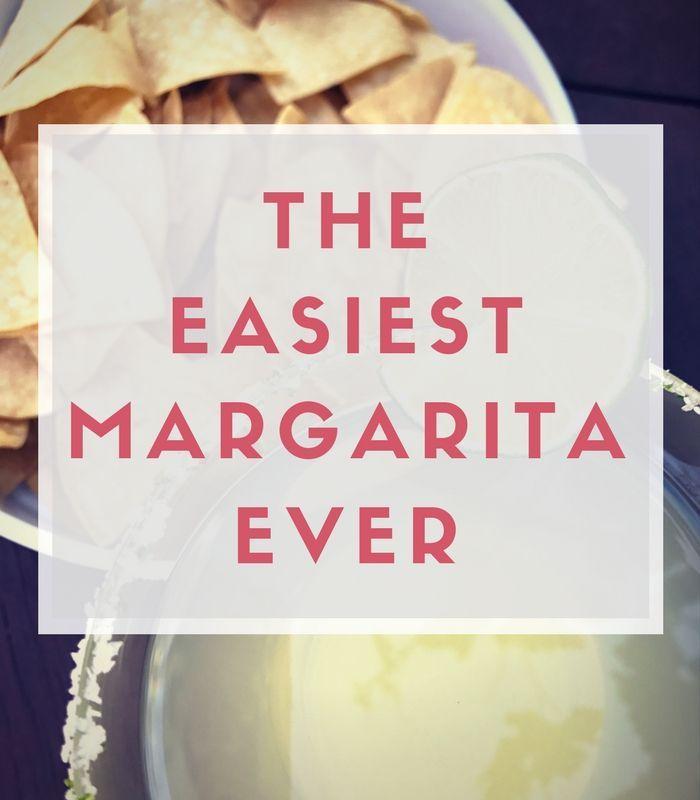 Easy Margarita Recipe, Summer