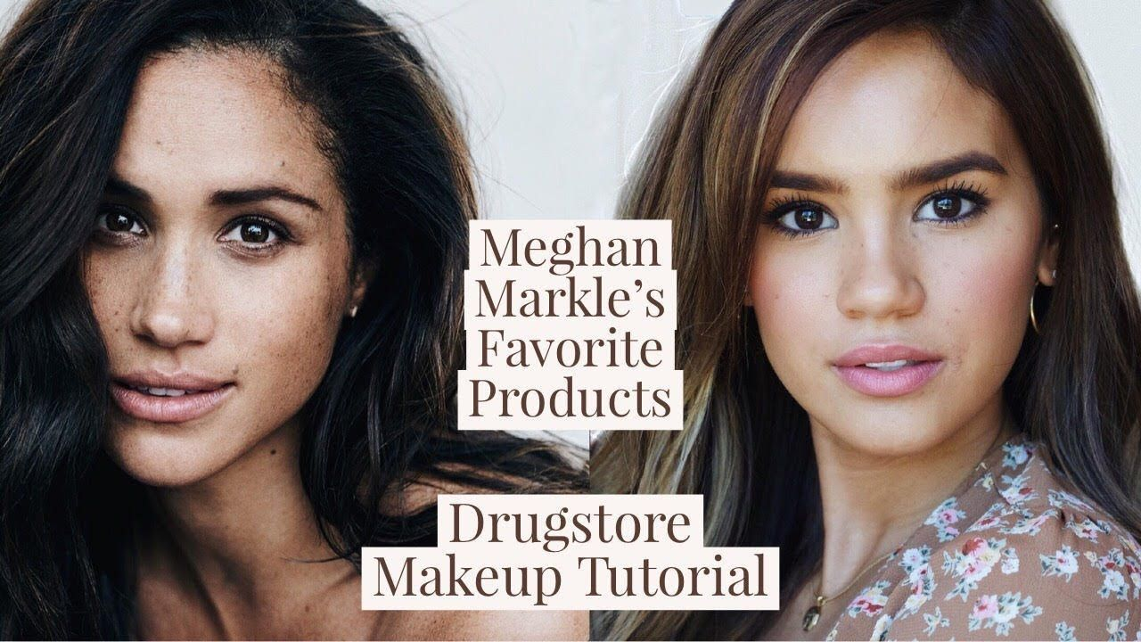 MEGHAN MARKLE MAKEUP TUTORIAL! DRUGSTORE DUPES FOR HER FAVES