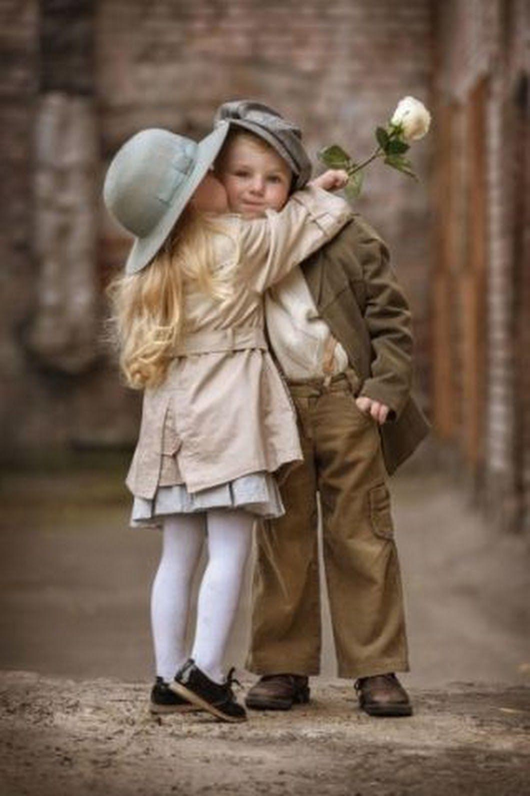 Дню, дети влюбленные картинки
