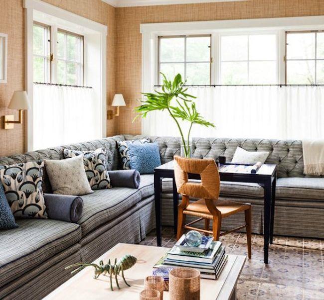 Backgammon Set Table Via Dicorcia Interior Design Ny Nj Curtains Living Room Country Living Room French Country Living Room