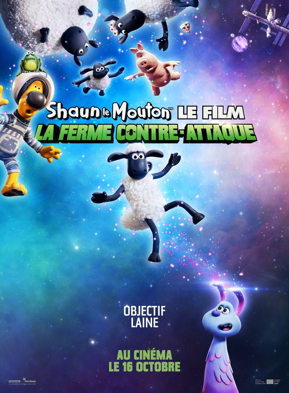 Trailer Shaun Le Mouton Le Film La Ferme Contre Attaque Shaun Le Mouton Films Complets Film