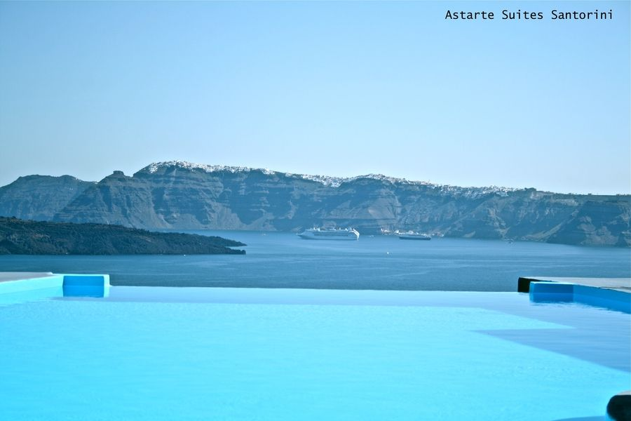 Astarte Suites Hotel #Santorini #greece #pools #summer