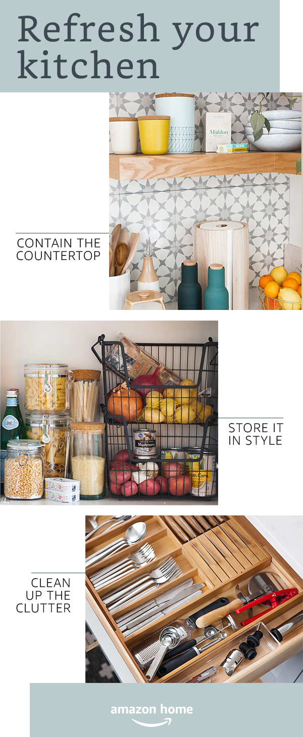 Refresh Your Space Easy Updates For The Kitchen Shop Amazon Home Home Home Decor Home Diy