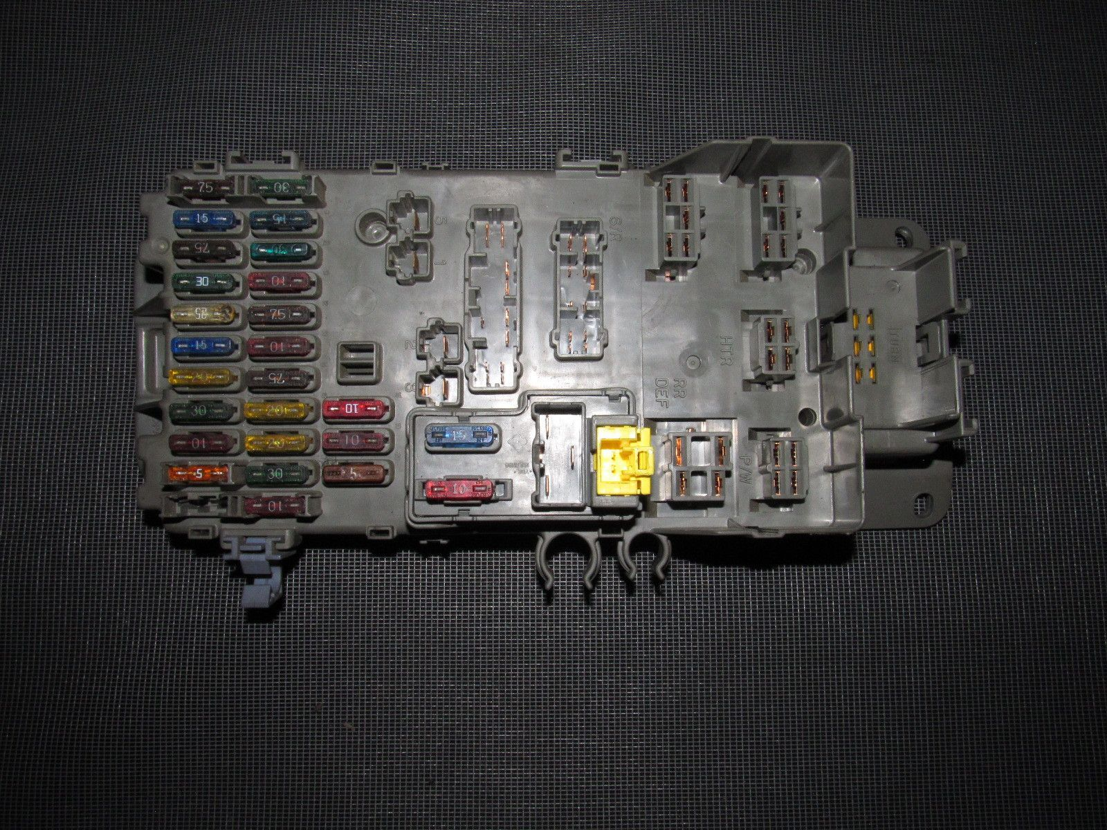 hight resolution of 92 93 94 95 96 honda prelude si h23 oem interior fuse box 1995 honda prelude fuse box