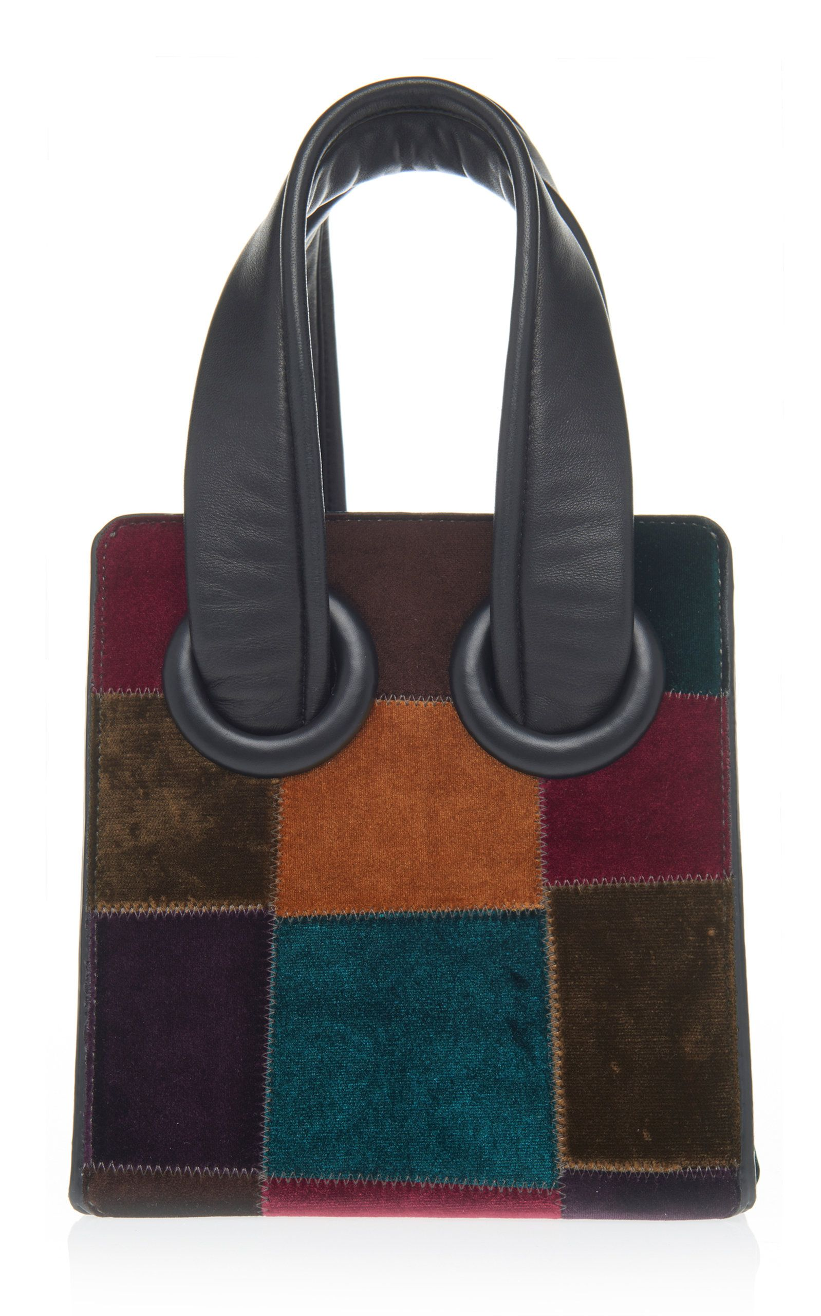 Deon 19 Patchwork Velvet Tote by BOYY Now Available on Moda Operandi d03204f151e6e