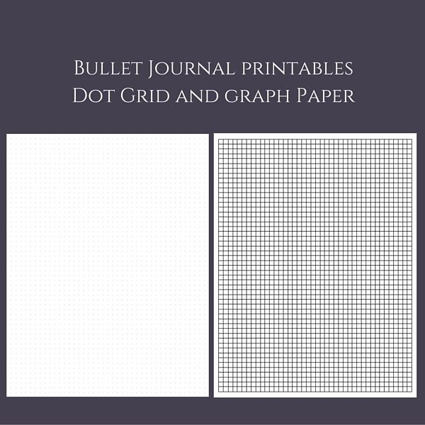 Love the versatility of dot grid paper and graph paper? Want to - graph paper template print
