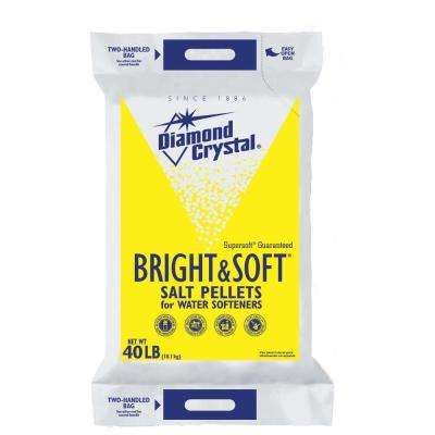 Bright And Soft Watersoftener Salt Pellets Water Softener Salt Softener Salt Water Softener
