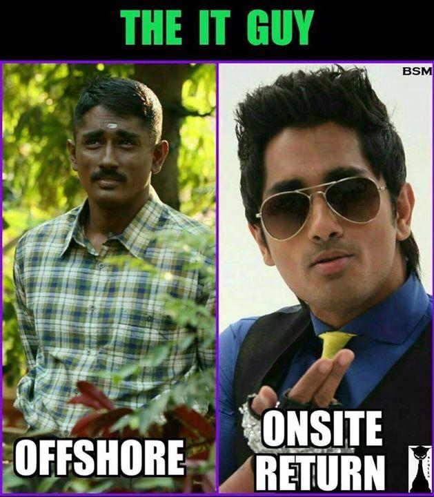 Image result for onsite meme tamil