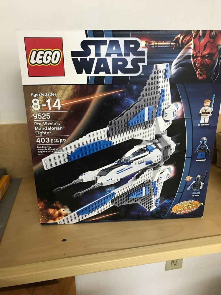 Lego pre  vizslas mandalorian fighterbrand newunopened