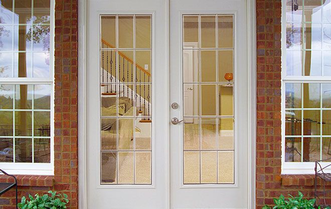 15 Light Beveled Decorative Door Glass French Doors Patio Exterior French Doors Patio French Doors Exterior