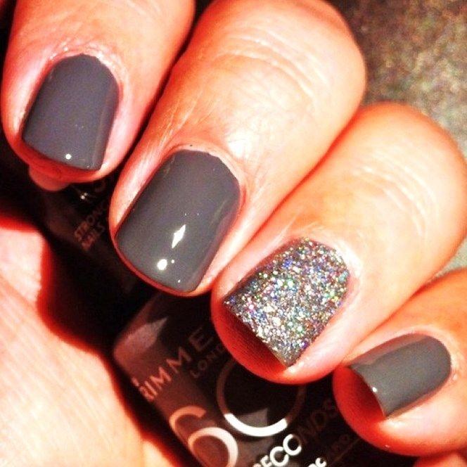 Blackish Nail Art Pattern Idea Matte | Nails | Pinterest | Art ...
