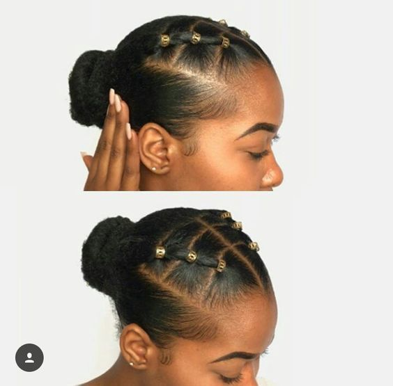 Ten Natural Hair Winter Protective Hairstyles With