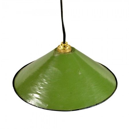 Green saucer pendant lamp shade chandeliers ceiling lights graham green