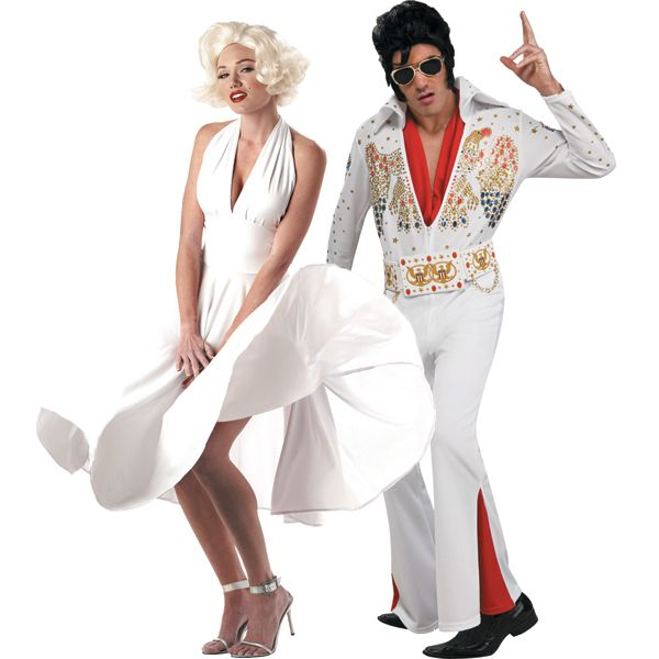 Hollywood couples halloween costumes u2013 Marilyn Monroe and Elvis  sc 1 st  Pinterest & Never gets old... | Hollywood couples halloween costumes u2013 Marilyn ...
