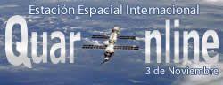 03 de Noviembre de 2000, en el espacio comienza a funcionar la Estación Espacial Internacional. http://www.quaronline.com/
