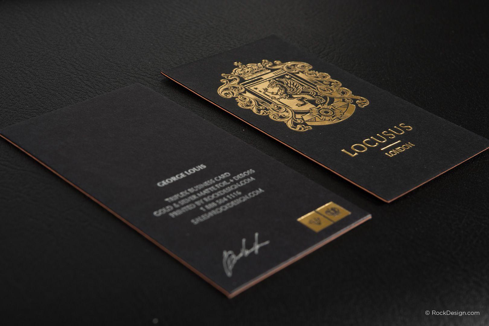 Triplex business cards rockdesign luxury business card printing triplex business cards rockdesign luxury business card printing colourmoves