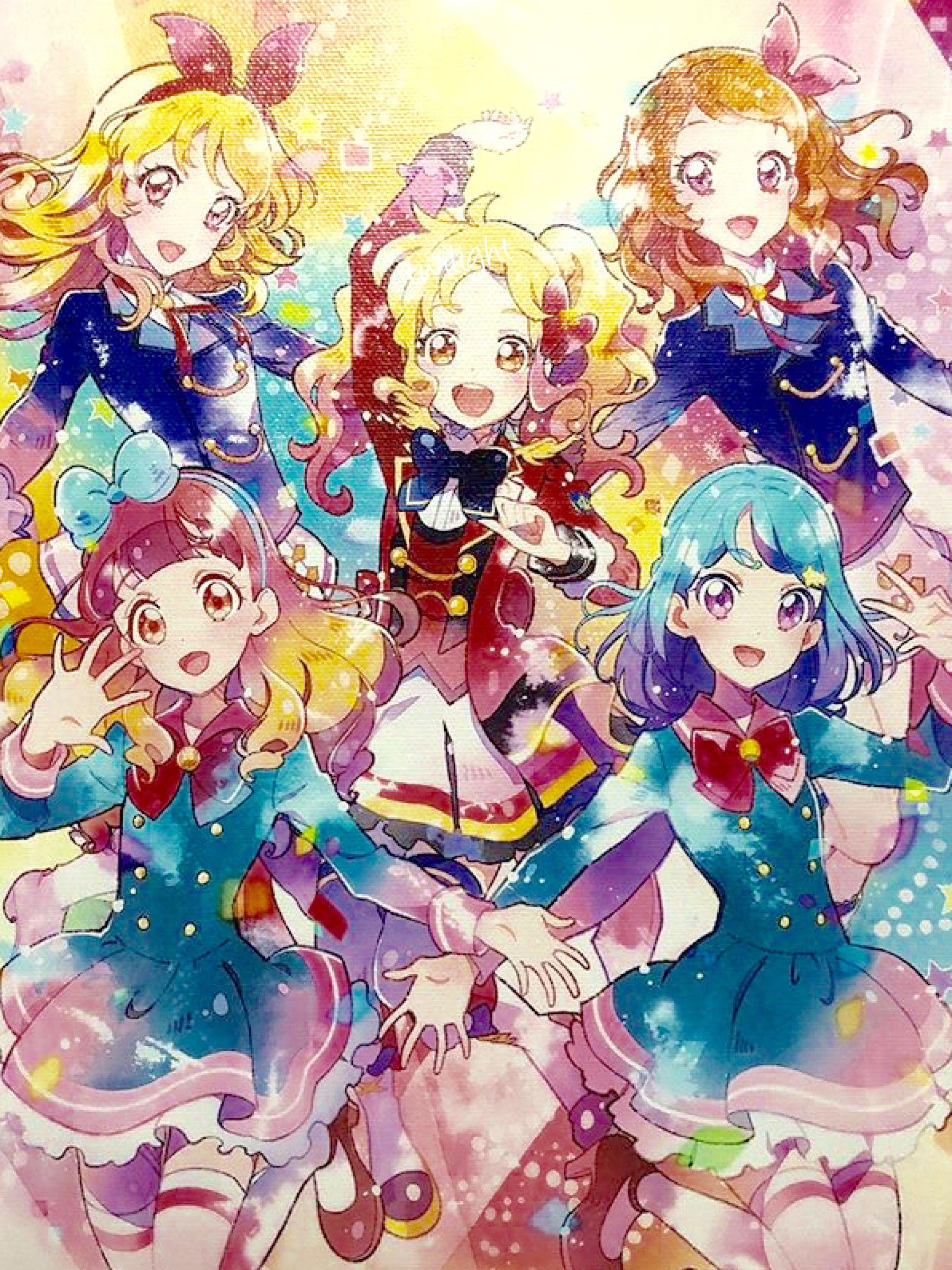 Aikatsu! X Aikatsu Stars! X Aikatsu Friends! Anime, Dễ