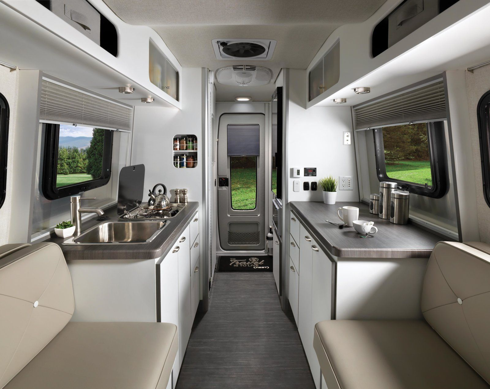 Photo 3 Of 10 In Airstream S First Fiberglass Travel Trailer Is