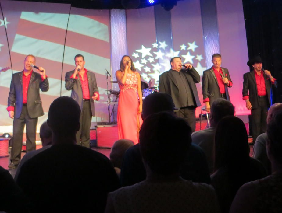The Talented Pierce Arrow Performers Salute America The Troops