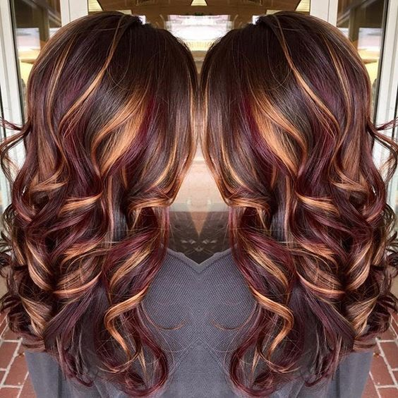 Fall Hair Color Ideas Long Brunette Hair Hair Styles Long Hair Styles