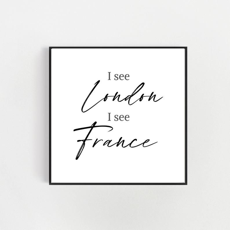 I See London I See France Funny Bathroom Printable Wall Art Etsy In 2020 Bathroom Printables Printable Wall Art Etsy Funny Bathroom Signs