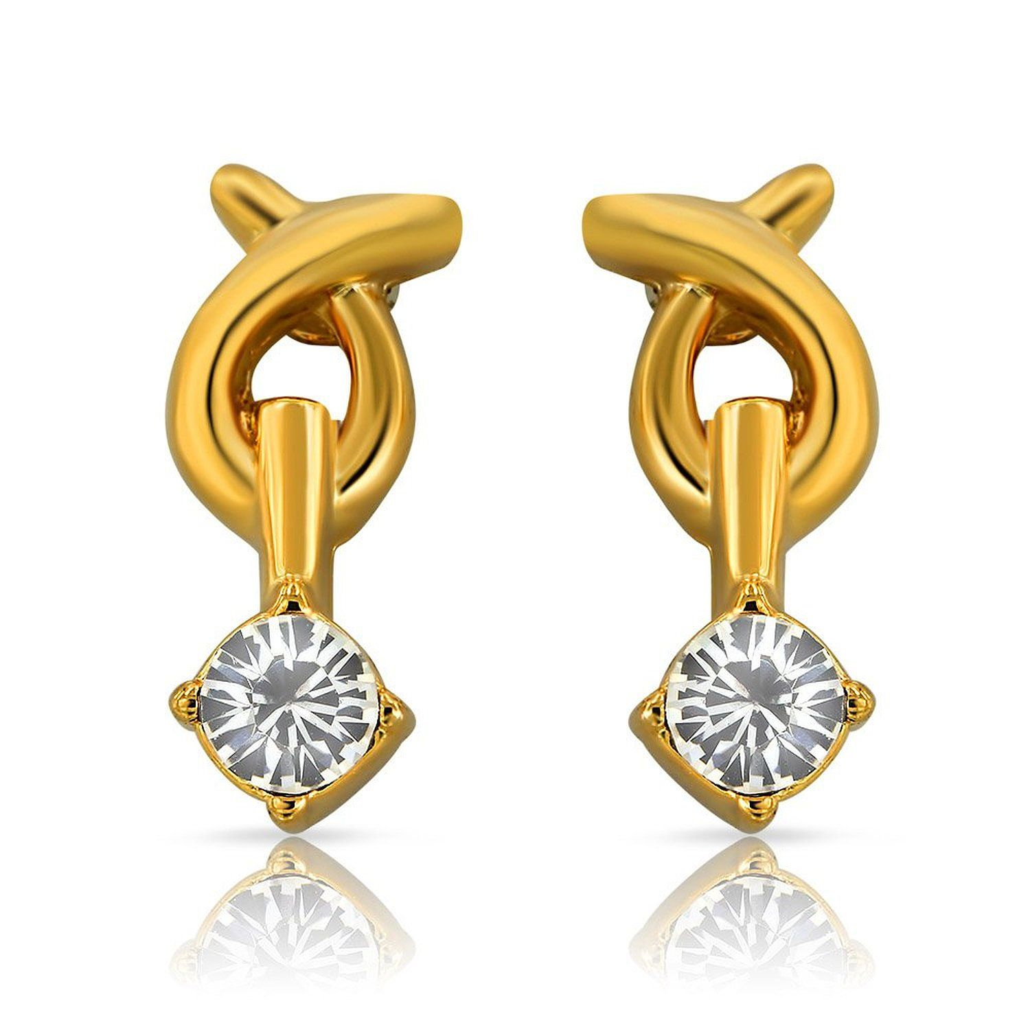 NU GOLD PLATED DIAMOND - Google Search | EARRINGS | Pinterest ...