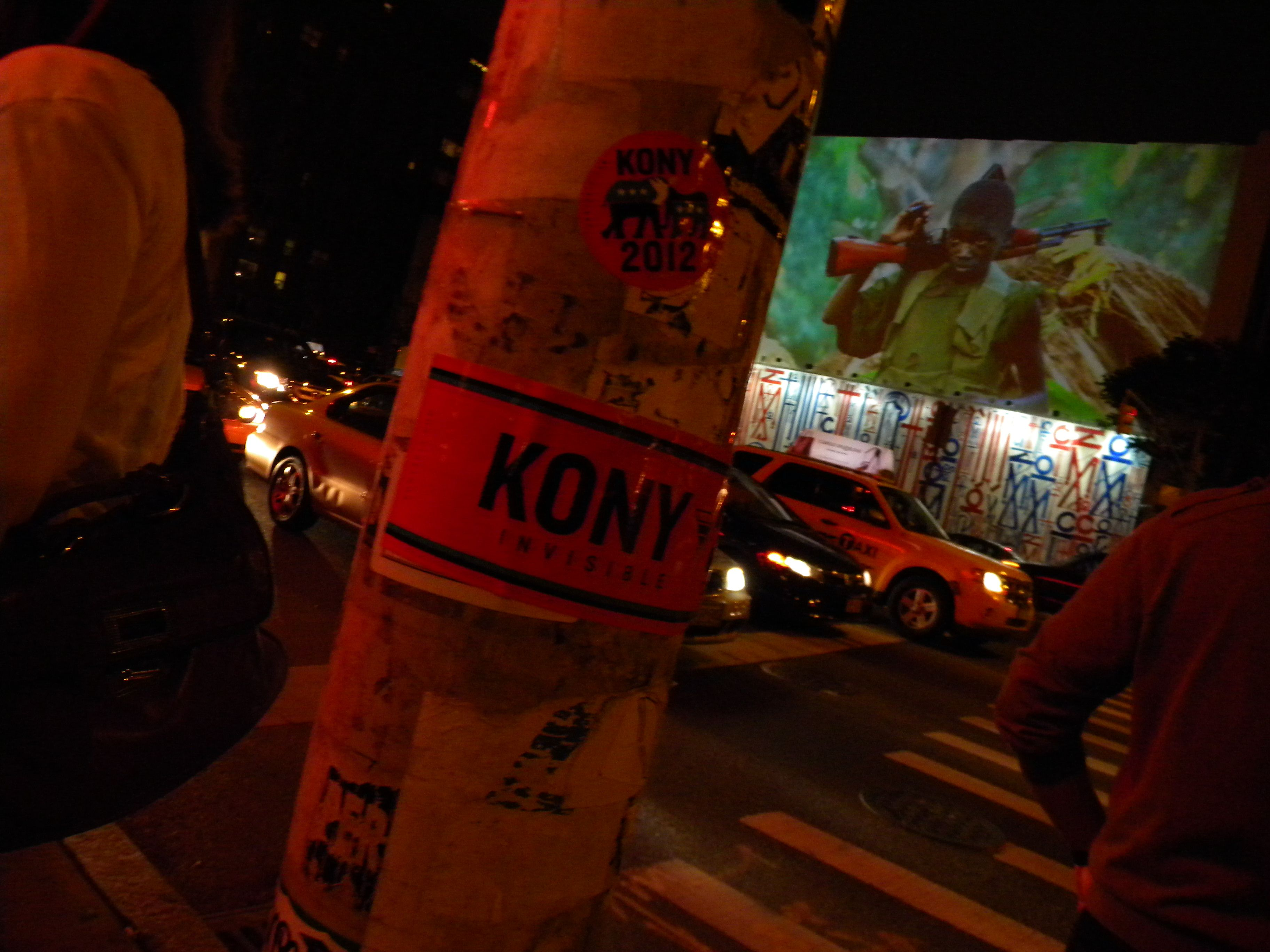 Kony 2012: Cover the night, NYC