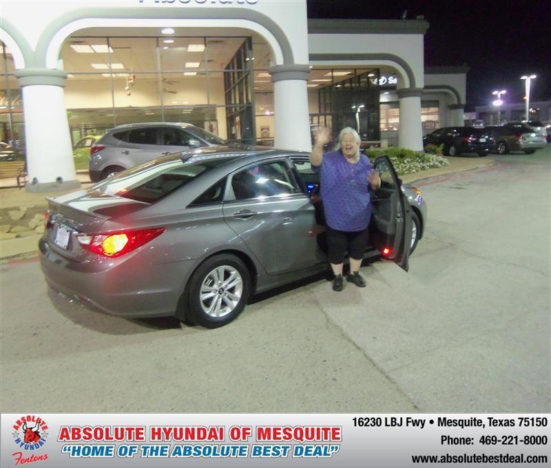 HappyAnniversary to Carolyn Trachier on your 2013 #Hyundai #Sonata