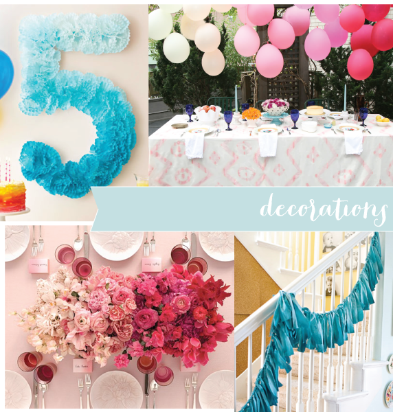 ombre decor yup Ombre Love Pinterest Birthday decorations