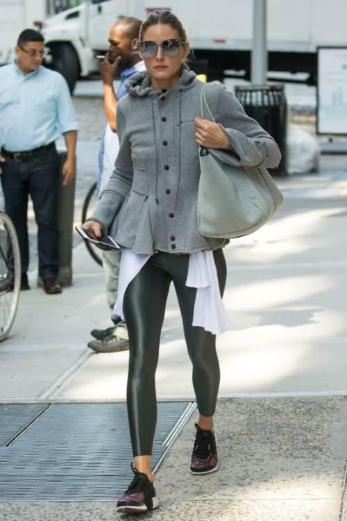 Olivia Palermo wearing Quay Lexi Sunglasses 85dd21c62dee