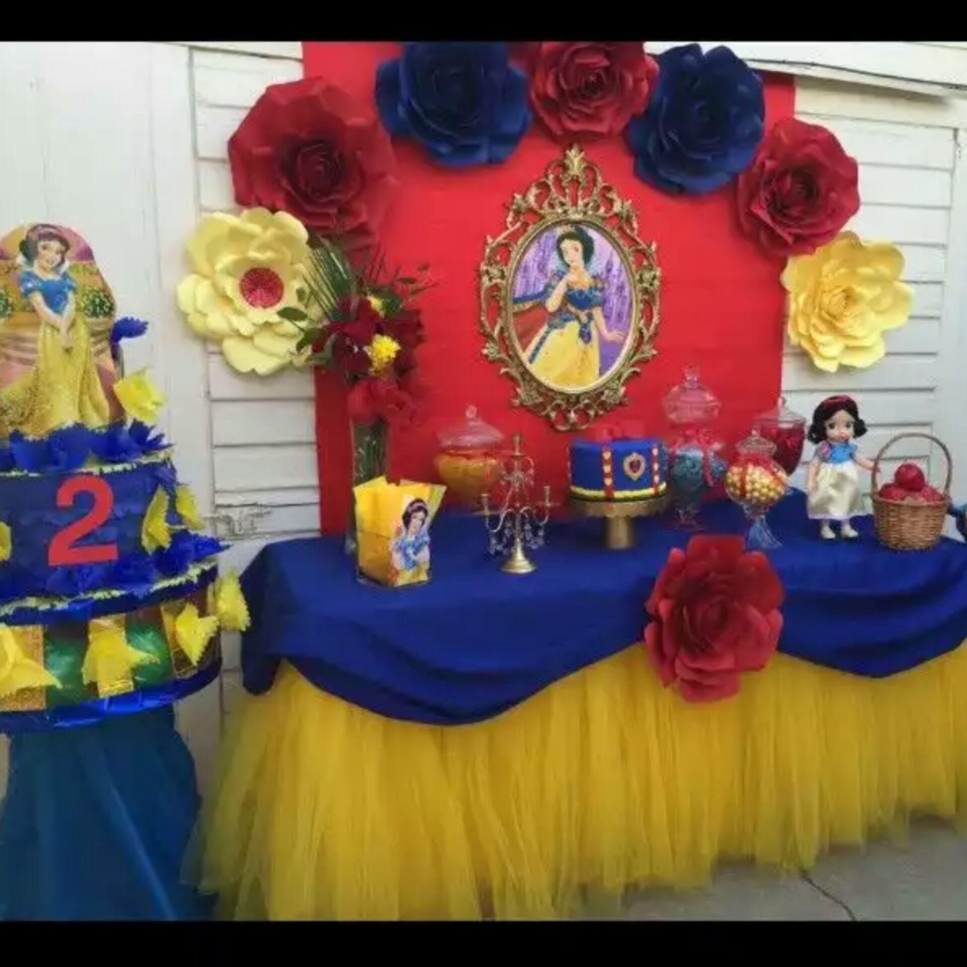 Snow White Theme Party White Party Theme Snow White