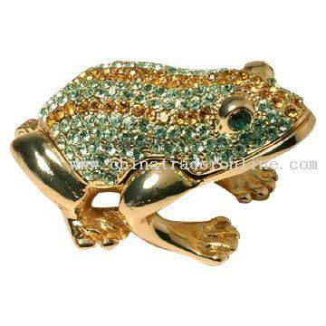Bejeweled Frog Jewelry Box Treasured Jeweled Frames Pinterest