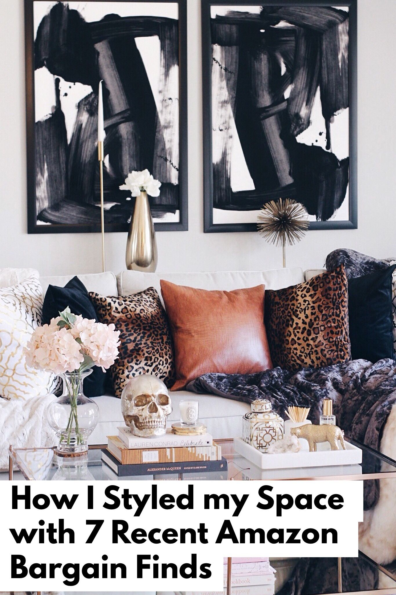 How I Styled My Living Room With 7 Recent Amazon Bargain Finds A