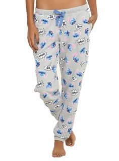 Disney Lilo   Stitch Tossed Stitch Girls Jogger Pants  90c4ae9d6