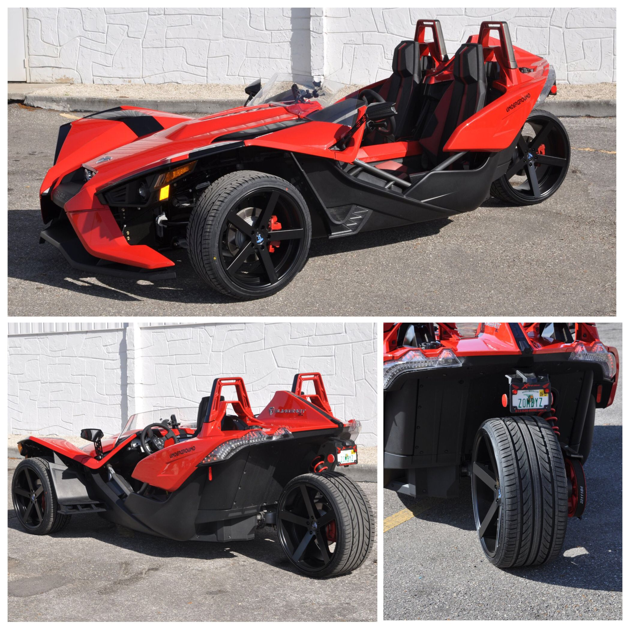 Polaris Slingshot Sl Custom Forged Wheels. 20 Inch Front