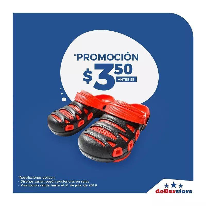 Siguen las promociones de zapatos en todas nuestras sucursales #Dollarstore #Escal��n #Pla...