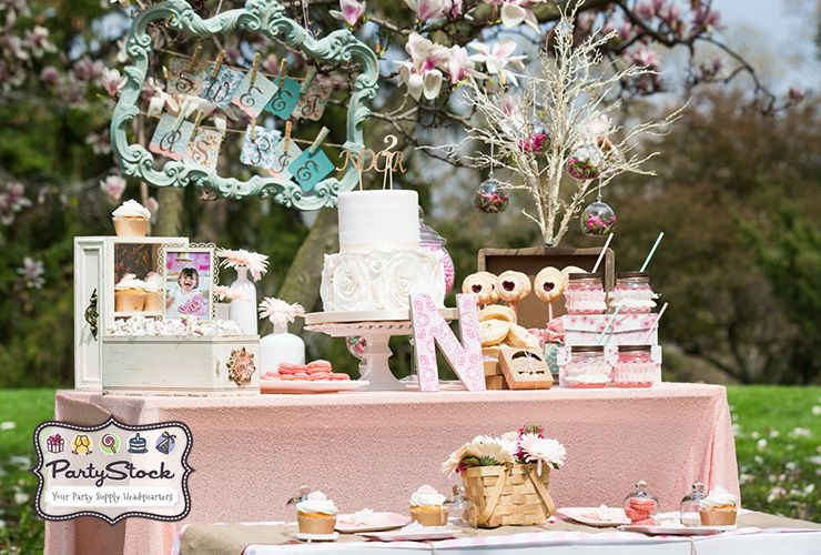 Blog Shabby Chic Sweet As Pie Themed Party Supplies And Decorations At Prices