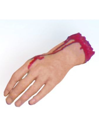 severed hand halloween decorations at frightcatalogcom - Fright Catalog Halloween Decorations