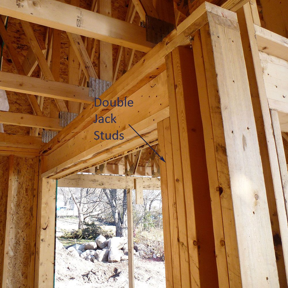 Double Jack Studs Workshop In 2019 Framing
