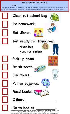 Behavior Chart  Montessori Ideas    Behaviour Chart