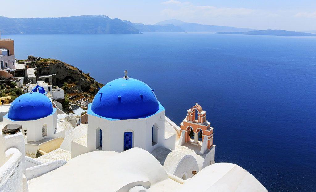 Lepuuta mielesi Kreikan Santorinissa.