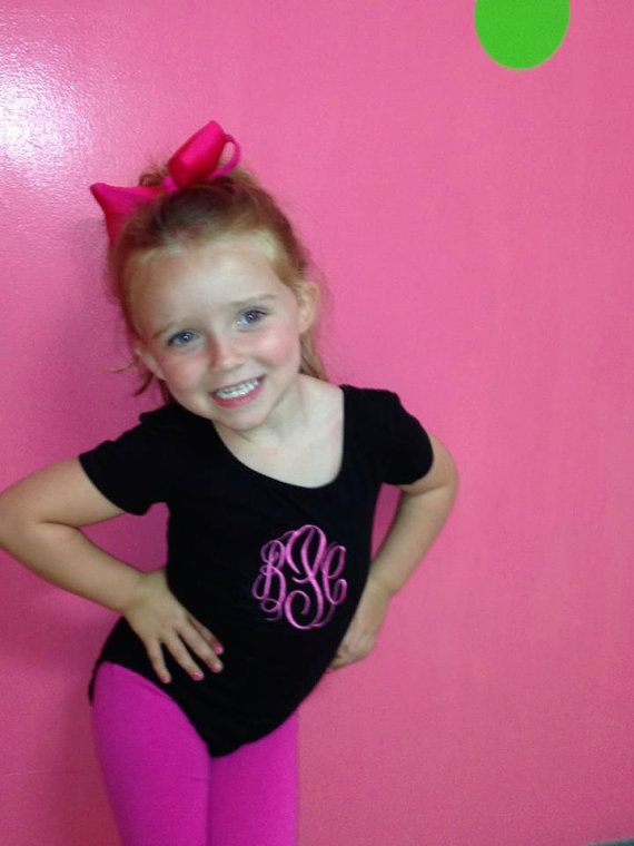 c47477f9453 Such a Cute Ballet or Gymnastics Leotard personalized with your Divas Name  or initials. Leotards come in the following Colors  Cotton Short