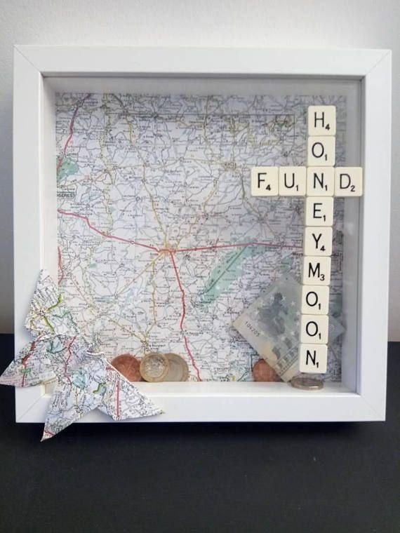 Honeymoon Fund Spardose Rahmen Engagement Geschenk Flitterwochen Spardose Reiseliebhaber ... ... Honeymoon Fund Spardose Rahmen Engagement Geschenk Flitterwochen Spardose Reiseliebhaber ...   - Money gift ideas -,
