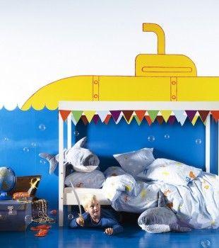 Murales y vinilos 10 ideas para habitaciones infantiles cuarto leo habitaciones infantiles Vinilos ikea infantiles
