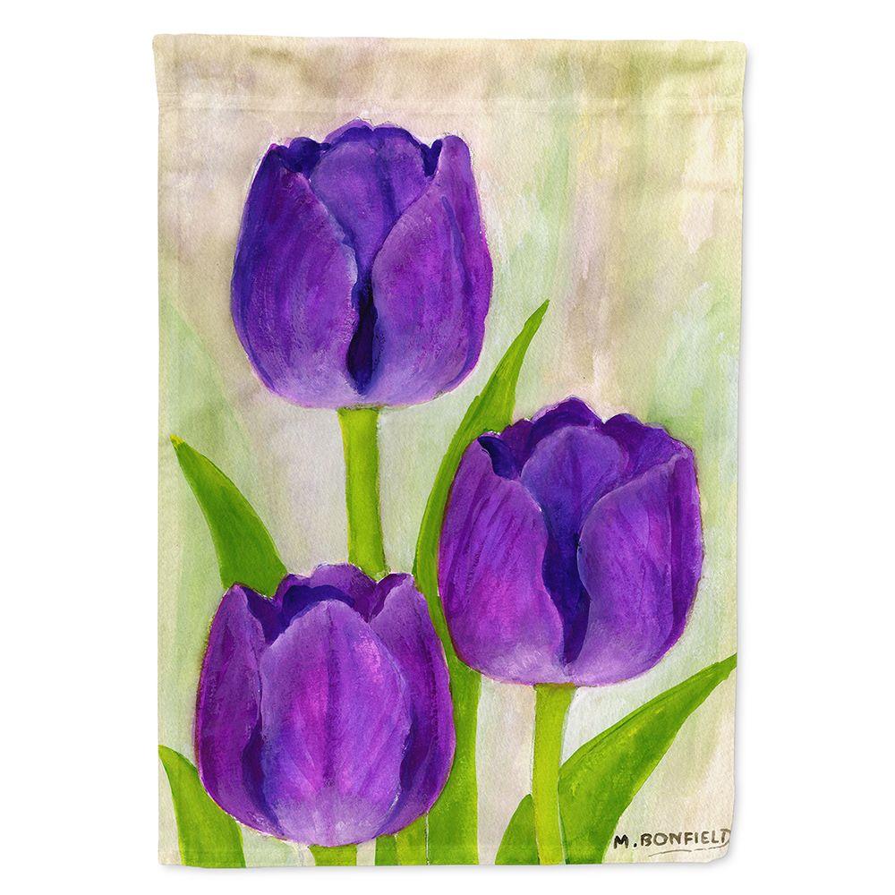 Purple Tulips by Maureen Bonfield Garden Flag Walmart