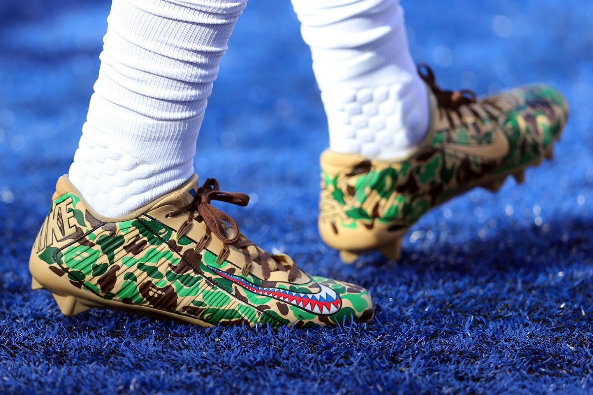 A Look at All of Odell Beckham\'s Custom Cleats From This Season ...