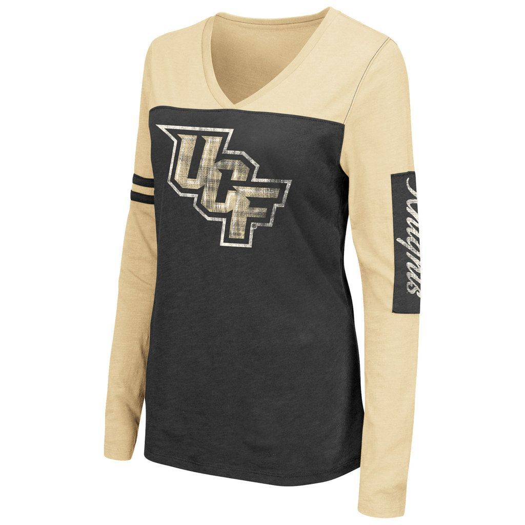32485a33 Women's Campus Heritage UCF Knights Distressed Graphic Tee, Size: Medium,  Oxford