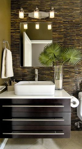Bath Products Tropical Modern Bathroom Tile Small Bathroom