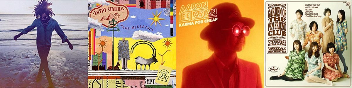 BEST MUSIC: 2018!___ ⬤ Lenny Kravitz, Paul McCartney, Aaron Lee